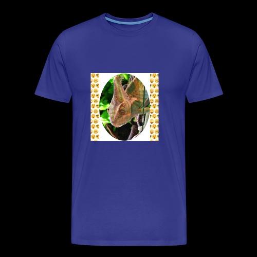 Pascal das Chamäleon - Männer Premium T-Shirt