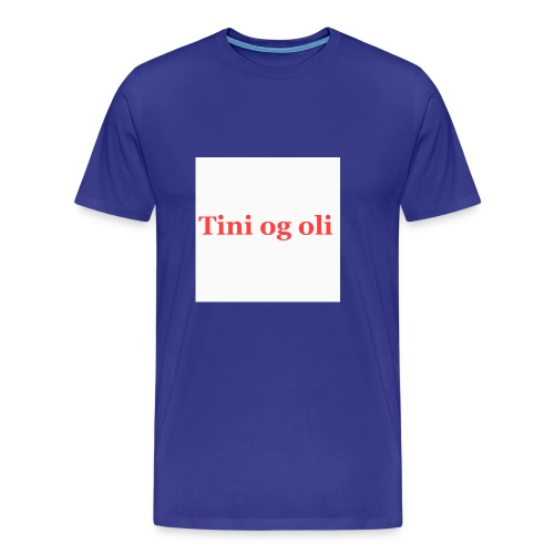 Tini og oli merch - Premium T-skjorte for menn