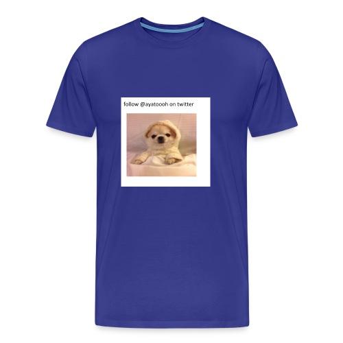 follow ayatooh - Men's Premium T-Shirt