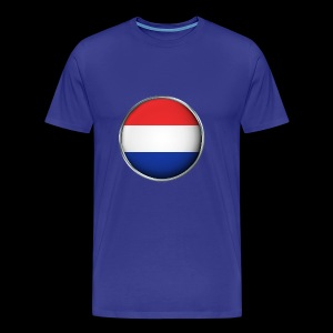 holland Flagge 3D - Männer Premium T-Shirt