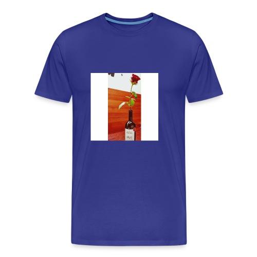 purcari rose - Men's Premium T-Shirt