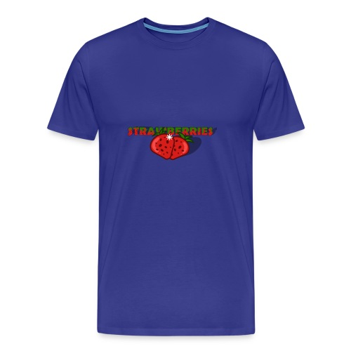Strawberries - Premium-T-shirt herr
