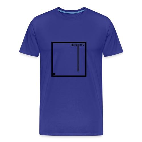 Tecnica cuadrada - Camiseta premium hombre