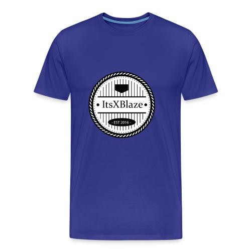 ItsXBlaze Logo 3 Hoodie - Mannen Premium T-shirt