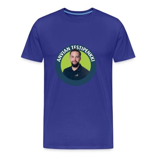 Tatu muki - Miesten premium t-paita