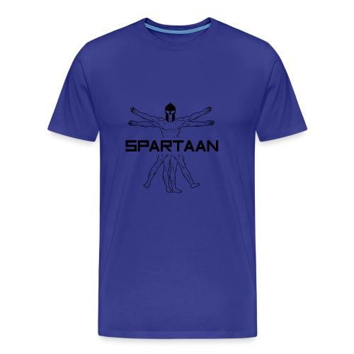 SPARTAAN - Logo - Mannen Premium T-shirt