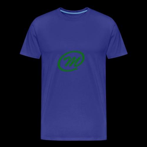 Manqu - Cap - Men's Premium T-Shirt