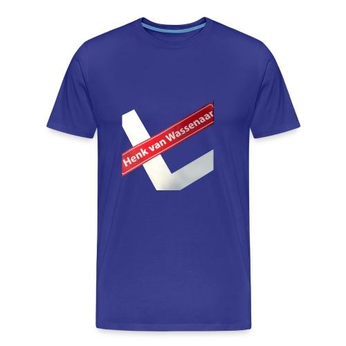 Henkvanwassenaar shirt - Mannen Premium T-shirt