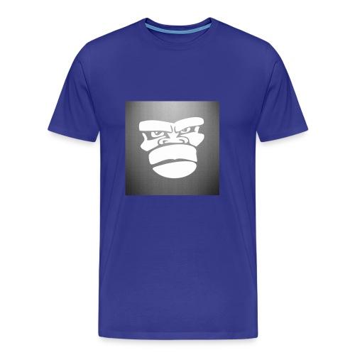 _mad_gorilla__by_marco_itri-d5sojaz - Camiseta premium hombre