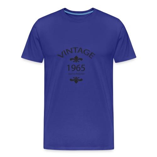 Vintage 1965 Aged to Perfection - Maglietta Premium da uomo