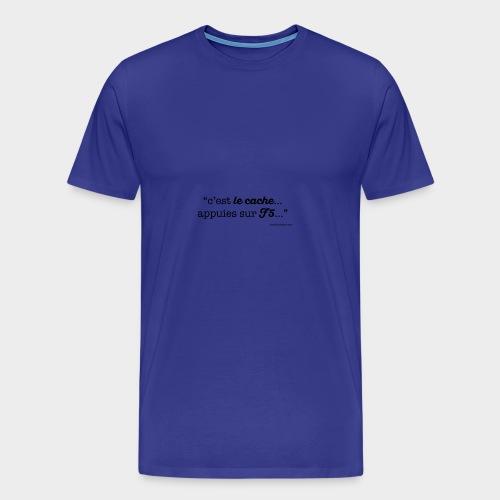 c-le-cache-VECT - T-shirt Premium Homme