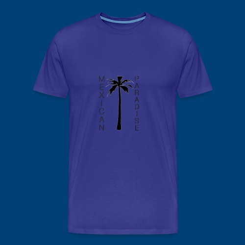 Mexican Paradise - Palms - 2016 - Herre premium T-shirt