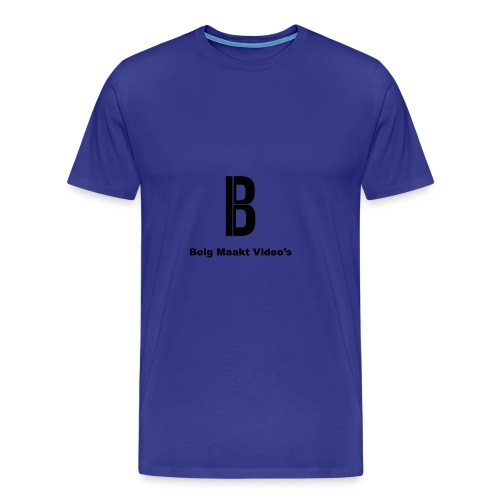 Belg Maakt Video's t-shirt - Mannen Premium T-shirt