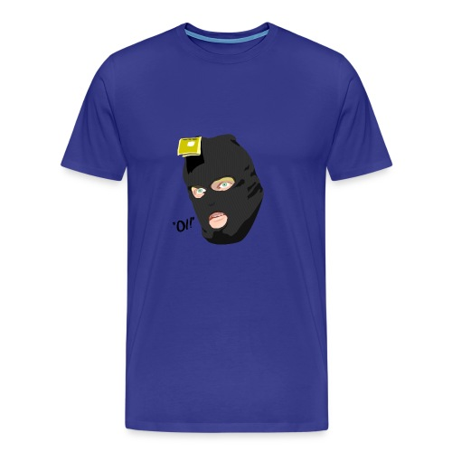 BLACK_CONDOM_SHIRT_PIC_1 - Premium T-skjorte for menn