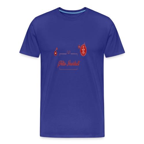 Feliz Navidad - Camiseta premium hombre