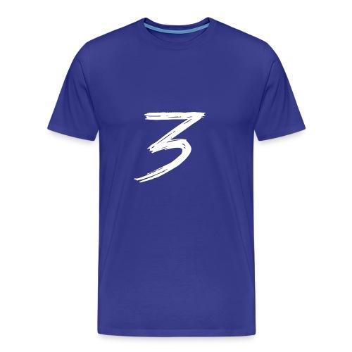 3 Logo - Maglietta Premium da uomo