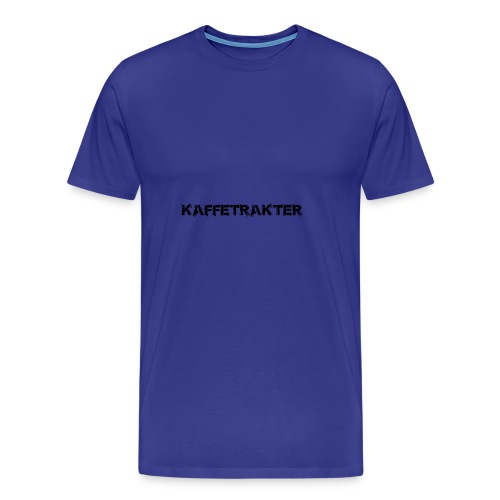 Tekst Logo - Premium T-skjorte for menn