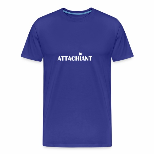 attachiant blanc - T-shirt Premium Homme