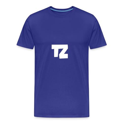 Trizex Logo Groot - Mannen Premium T-shirt