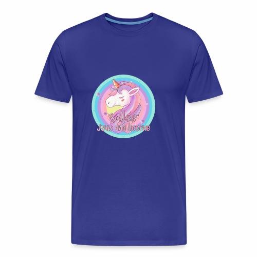 Ballec' J'suis une licorne - T-shirt Premium Homme