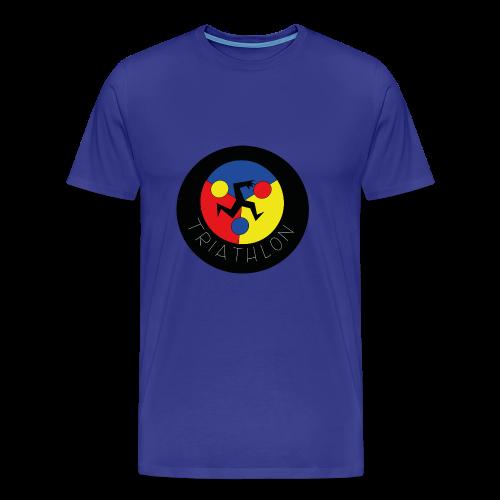 triathlon - Camiseta premium hombre