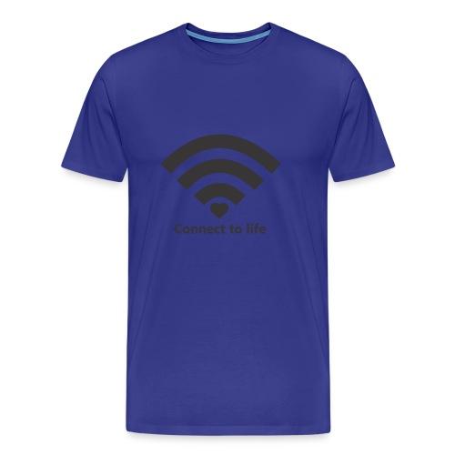 Conect_to_life - Camiseta premium hombre