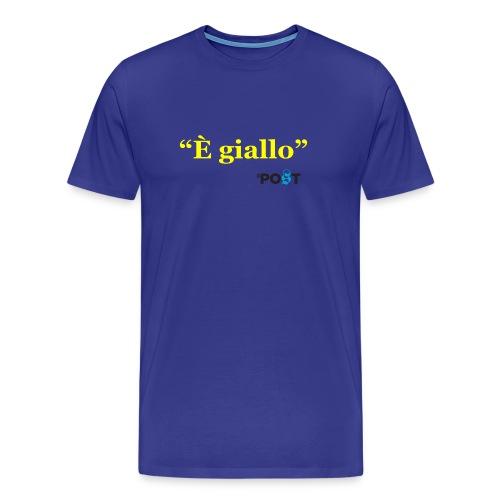 È giallo - Maglietta Premium da uomo