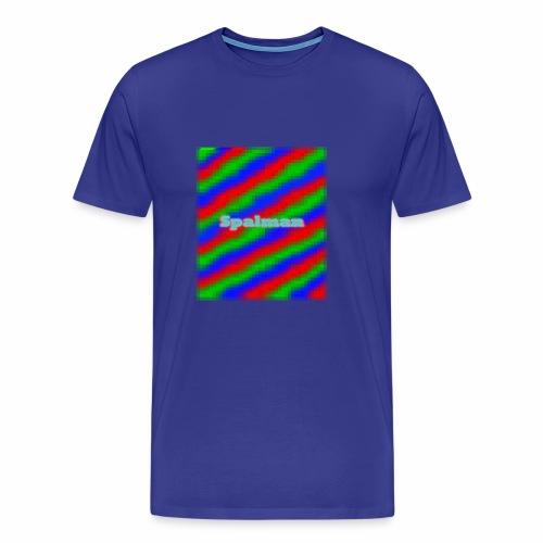 Spalman 8-Bit - Männer Premium T-Shirt