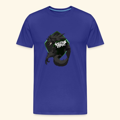 font logo spectral2 - T-shirt Premium Homme