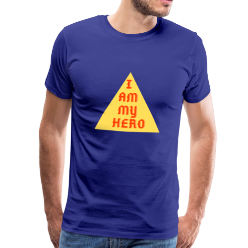 Le triangle I am my hero - T-shirt Premium Homme