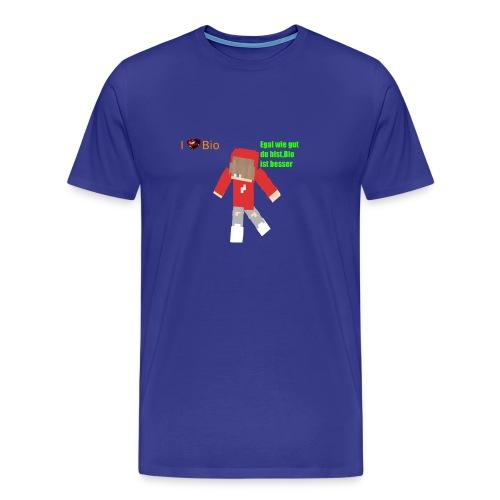 I <3 Bio - Männer Premium T-Shirt