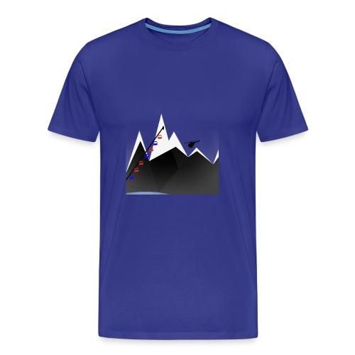 MOUNTAINS | WINTER KOLLEKTION - Männer Premium T-Shirt