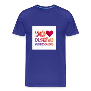 amoeldisenovenezolanoV3 - Camiseta premium hombre