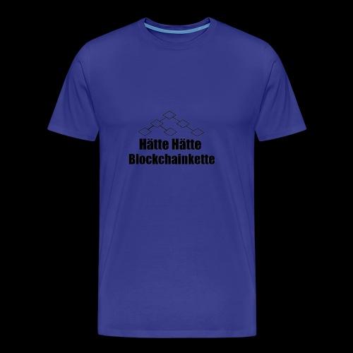 Blockchainkette - Männer Premium T-Shirt