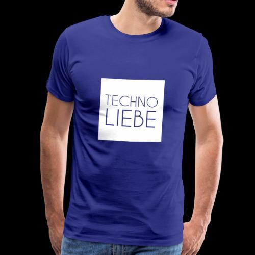 Techno Liebe Goa - Männer Premium T-Shirt