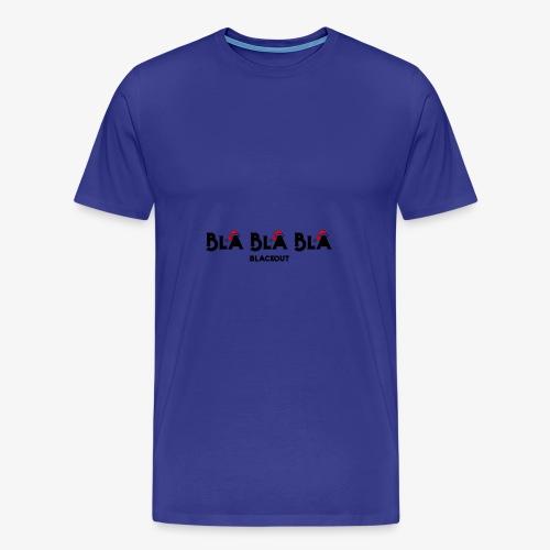 Bla bla bla - T-shirt Premium Homme
