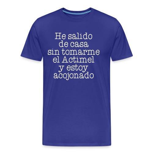 Sin Actimel - Camiseta premium hombre