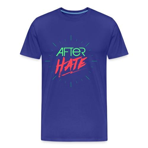 After Hate Horloge - T-shirt Premium Homme