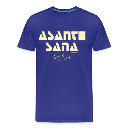 Asante sana pale gold - Men's Premium T-Shirt