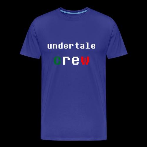 Collezione 3 Undertale Crew - Maglietta Premium da uomo