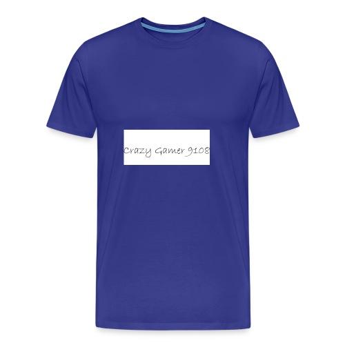 Crazy Gamer 9108 new merch - Men's Premium T-Shirt