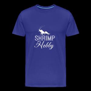 SHRIMP HOBBY [BLANC] - T-shirt Premium Homme