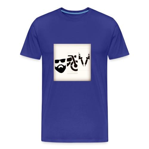 BB&T silhouettes - Men's Premium T-Shirt