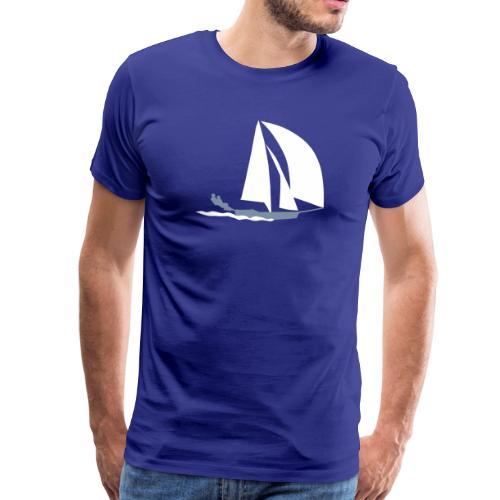 49er sailing - Männer Premium T-Shirt