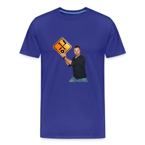 Mark mit M1Molter - Logo - Männer Premium T-Shirt