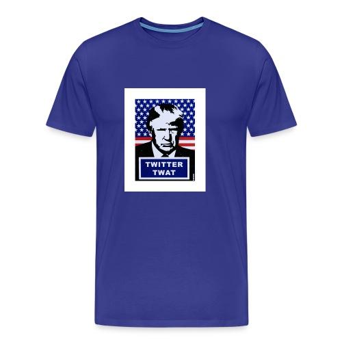twitter twat - Men's Premium T-Shirt