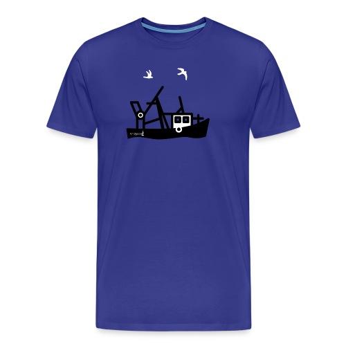 bridgeport cutter logo - Männer Premium T-Shirt