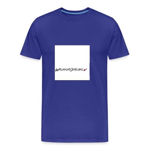 Walaker Official klær - Premium T-skjorte for menn