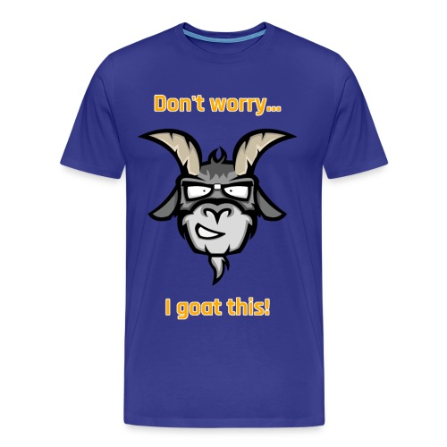 I goat this! Orange - Mannen Premium T-shirt