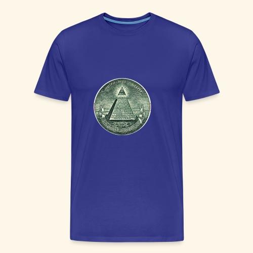 Cogito ergo sum/ ich denke also bin ich (Scam) - Männer Premium T-Shirt